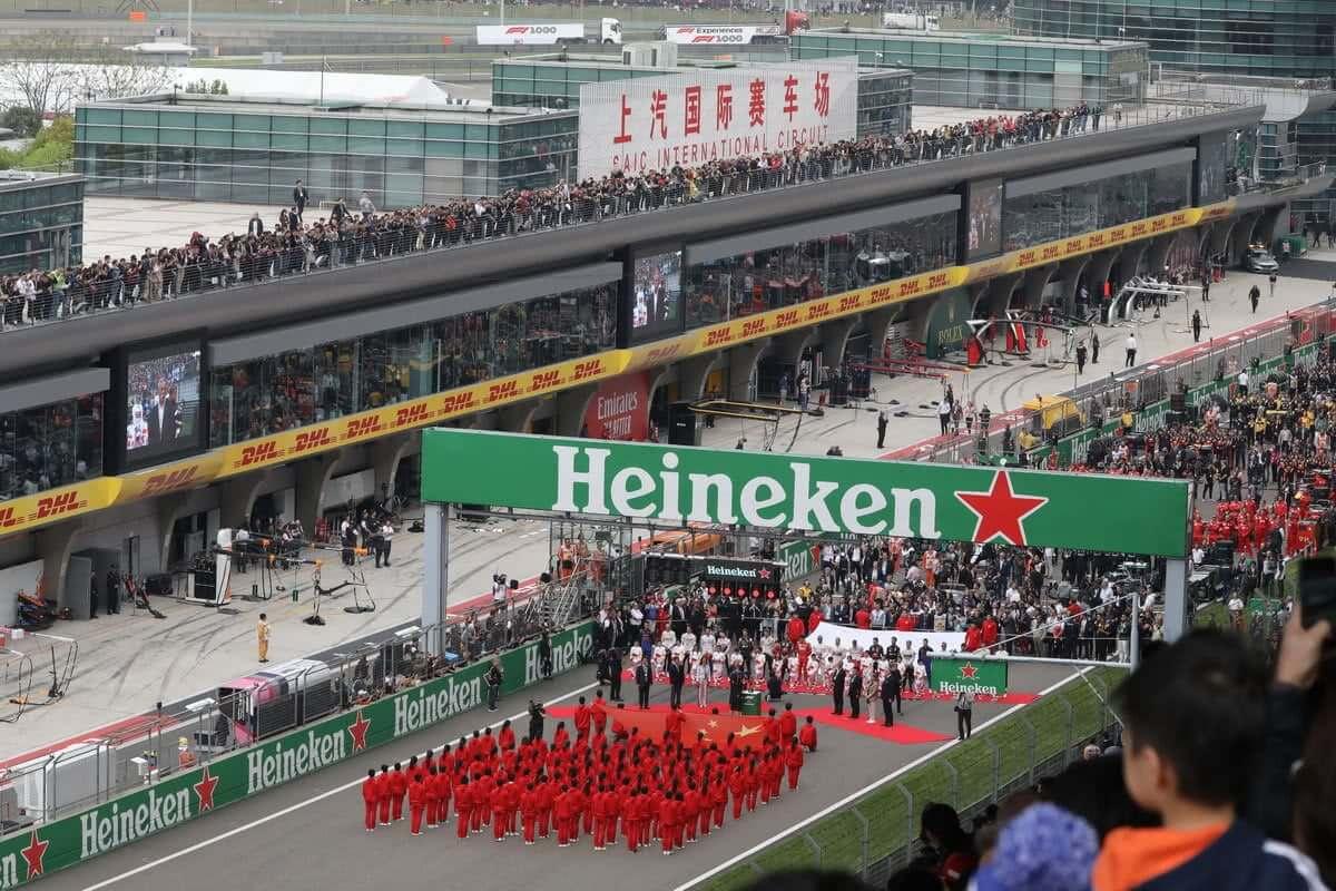 上海F1開幕式