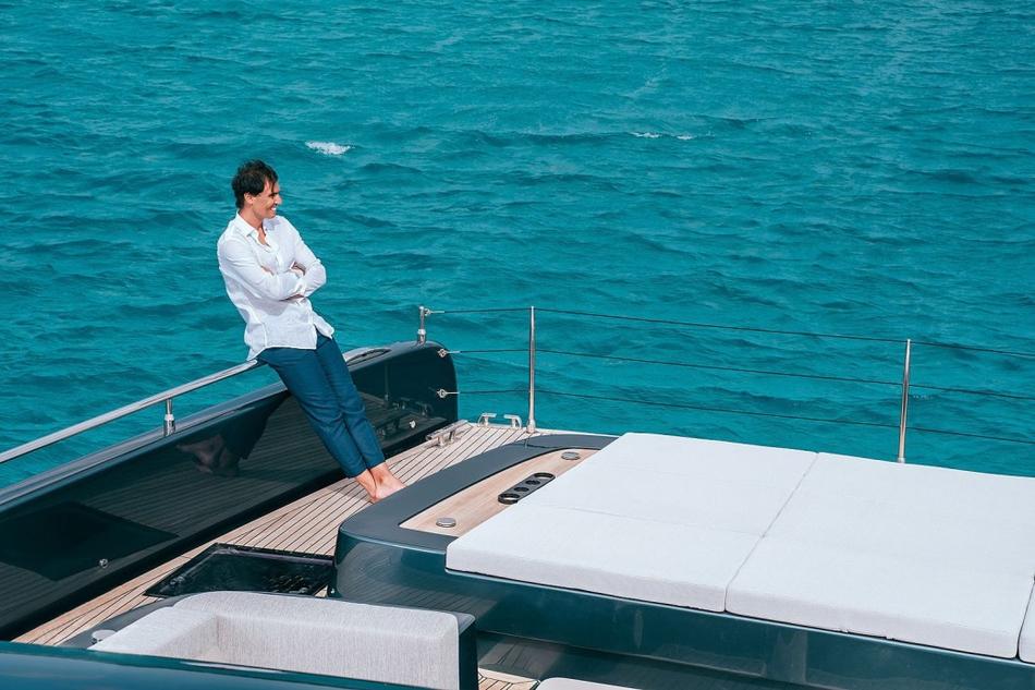 纳达尔的豪华游艇
