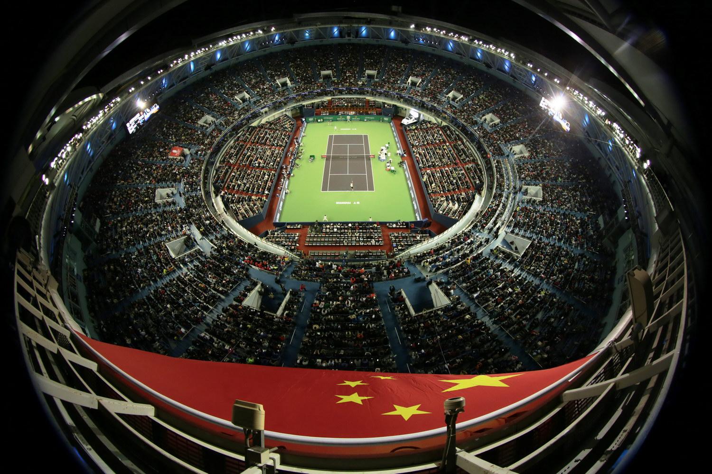 ATP1000网球大师赛比赛现场