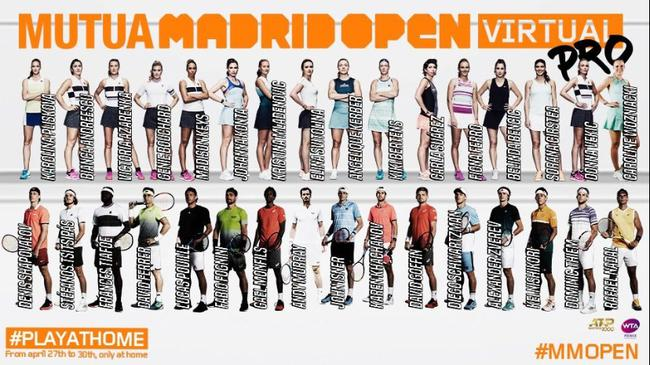 马德里网球电竞赛32强出炉 蒂姆沃兹尼亚奇参赛