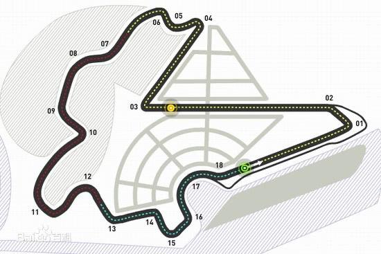 F1韩国大奖赛灵岩赛道介绍