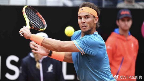 罗马大师赛签表:纳达尔网坛重启后首秀