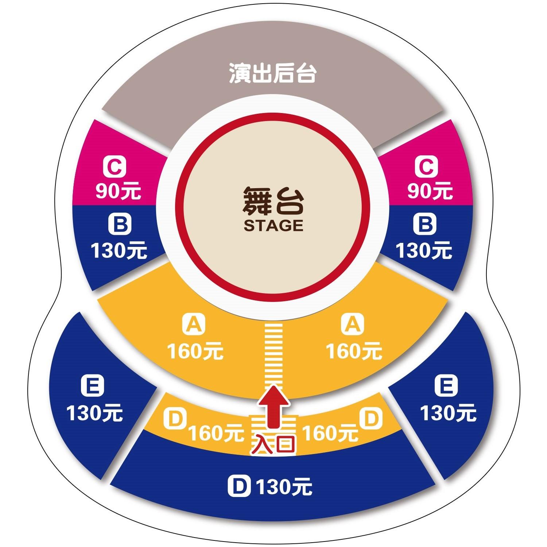 上海马戏城欢乐马戏座位图