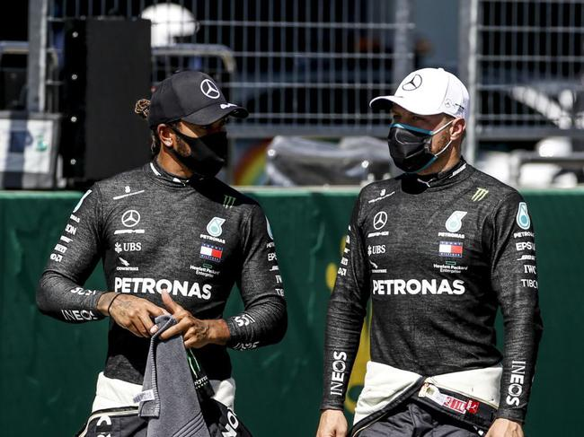 汉密尔顿和博塔斯一致认为 F1比赛练习赛太多
