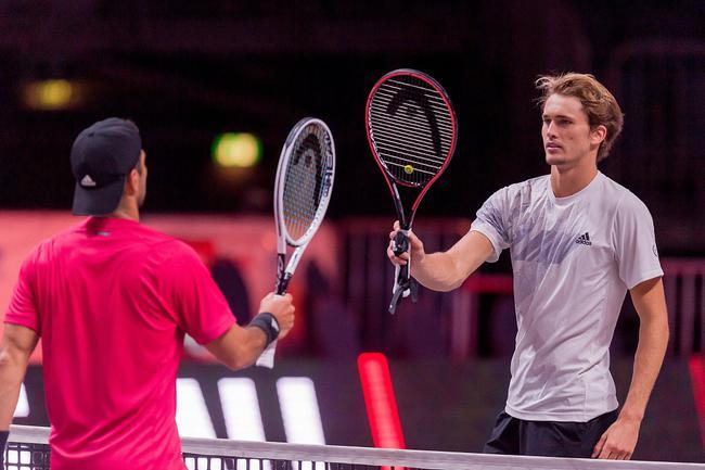 ATP圣彼得堡赛兹维列夫晋级八强 西里奇遭逆转