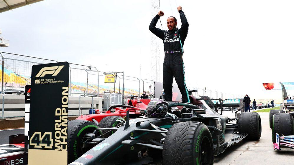 汉密尔顿F1土耳其站破纪录,七连冠追平舒马赫
