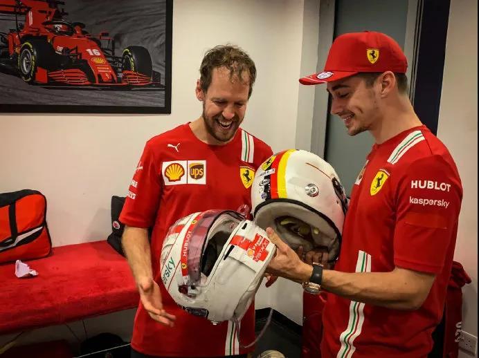 F1车手维特尔结束法拉利生涯,与队友勒克莱尔互表敬意