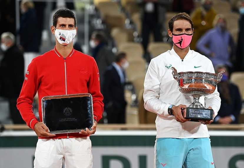 法国网球公开赛落幕:德约纳达尔9场大满贯对决盘点