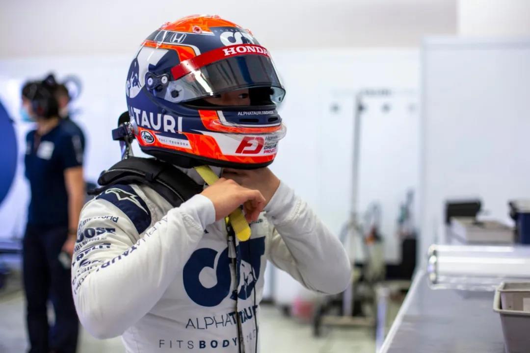 首位00后F1車手角田裕毅備戰新賽季