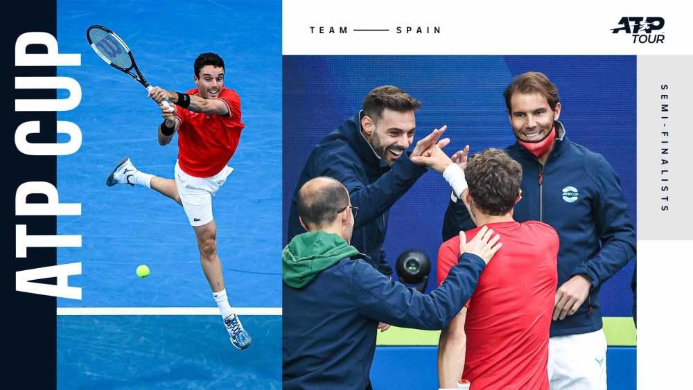 ATP杯半决赛:意大利携手俄罗斯晋级决赛