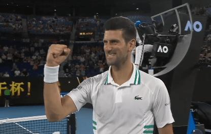 德约科维奇顺利晋级澳网决赛,曾八次夺冠