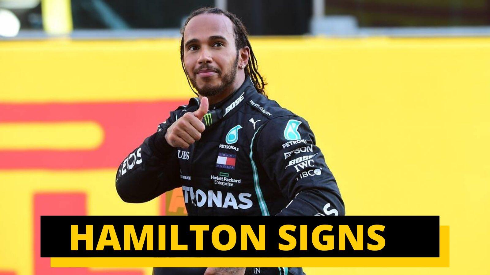 为何汉密尔顿只续约一年?八冠后要退出F1吗