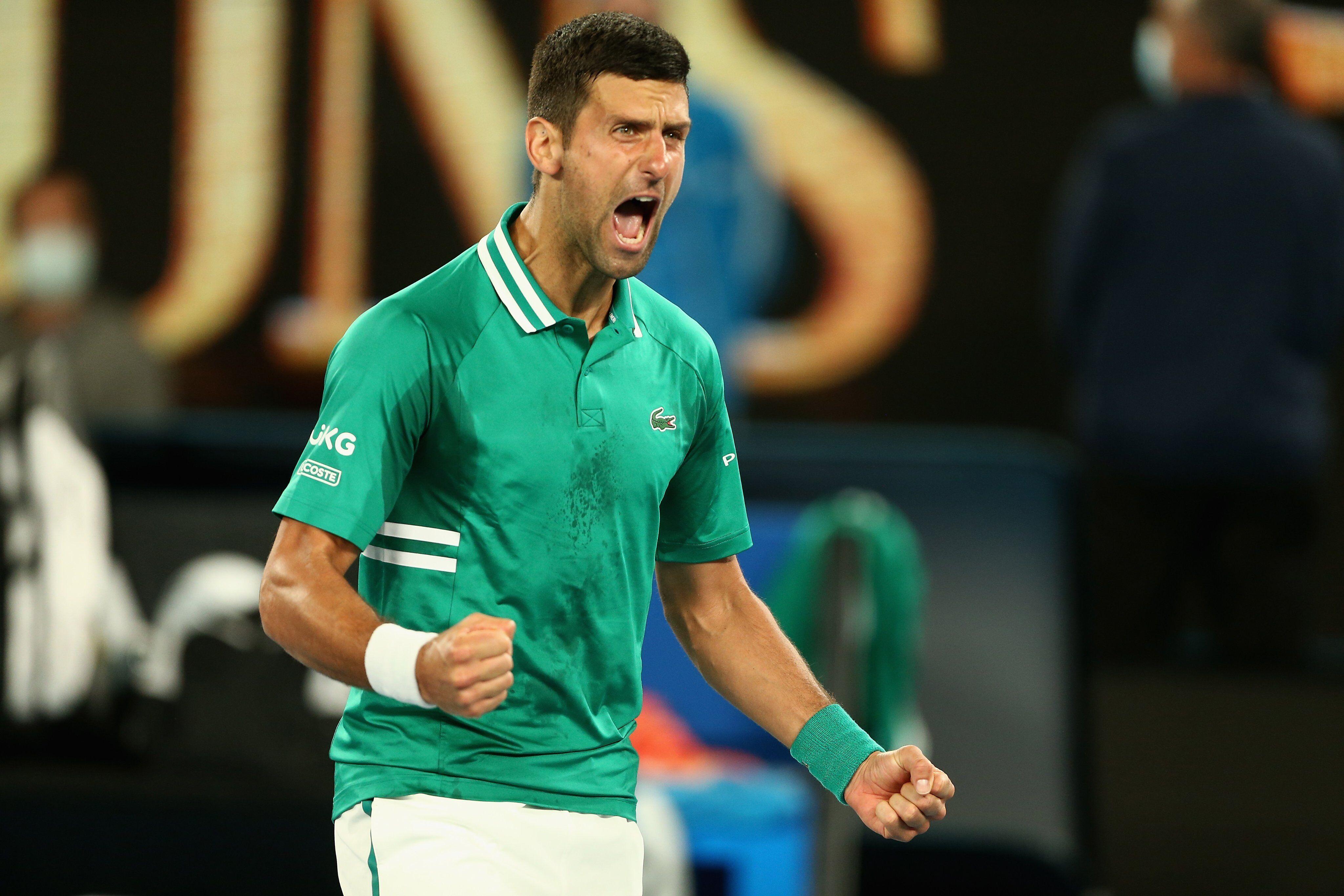 310 weeks! Djokovic equals Roger Federer's world first-week record