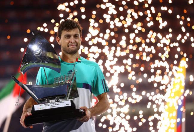 卡拉采夫夺ATP迪拜站冠军,ATP世界排名27