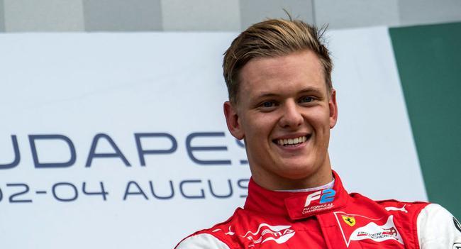 舒马赫之子将征战F1赛场,只要车快就会感到很幸福