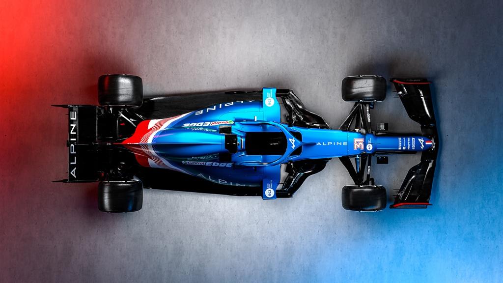 Alpine F1新车亮相,中国车手周冠宇担任试车手
