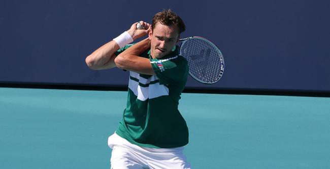 Medvedev is through to the next round: exhausting