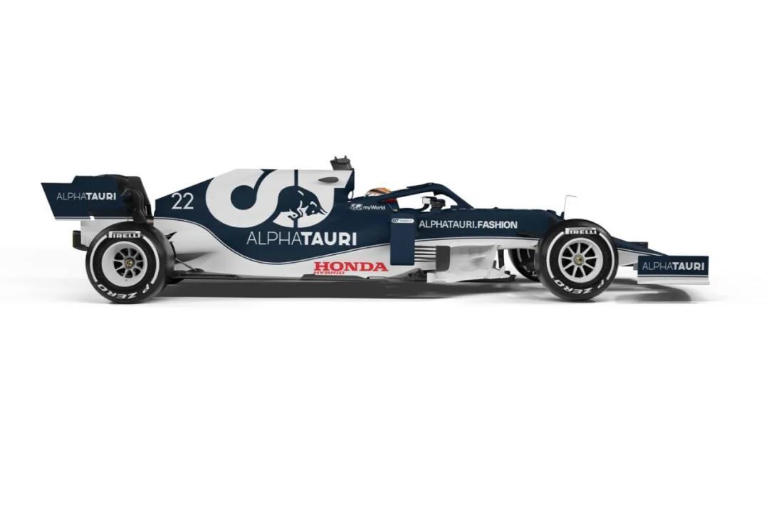 红牛二队发布2021赛季新车,涂装焕然一新