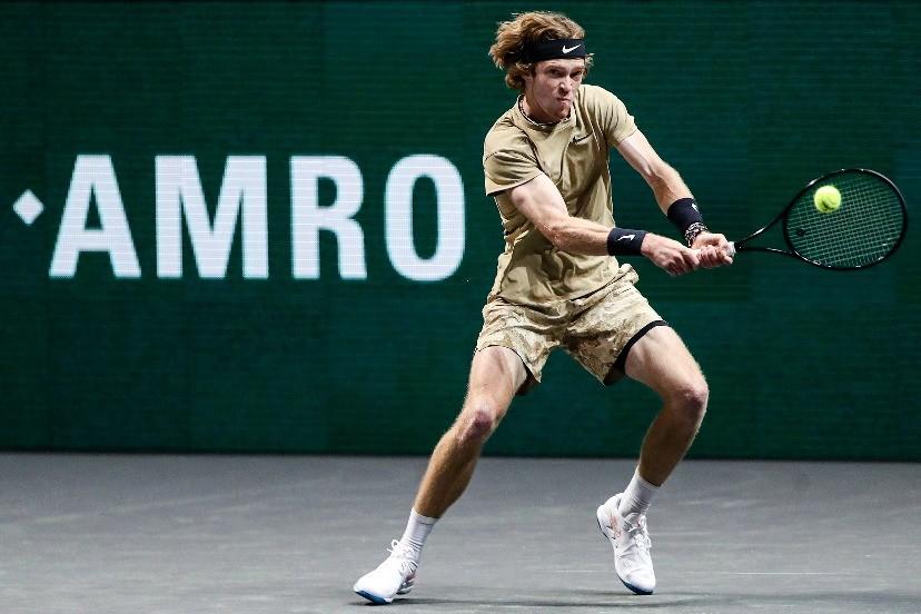 ATP500鹿特丹赛卢布列夫夺冠,职业生涯第八冠