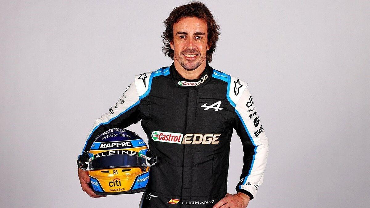 2021赛季阿隆索回归F1赛场,自信比汉密尔顿更好