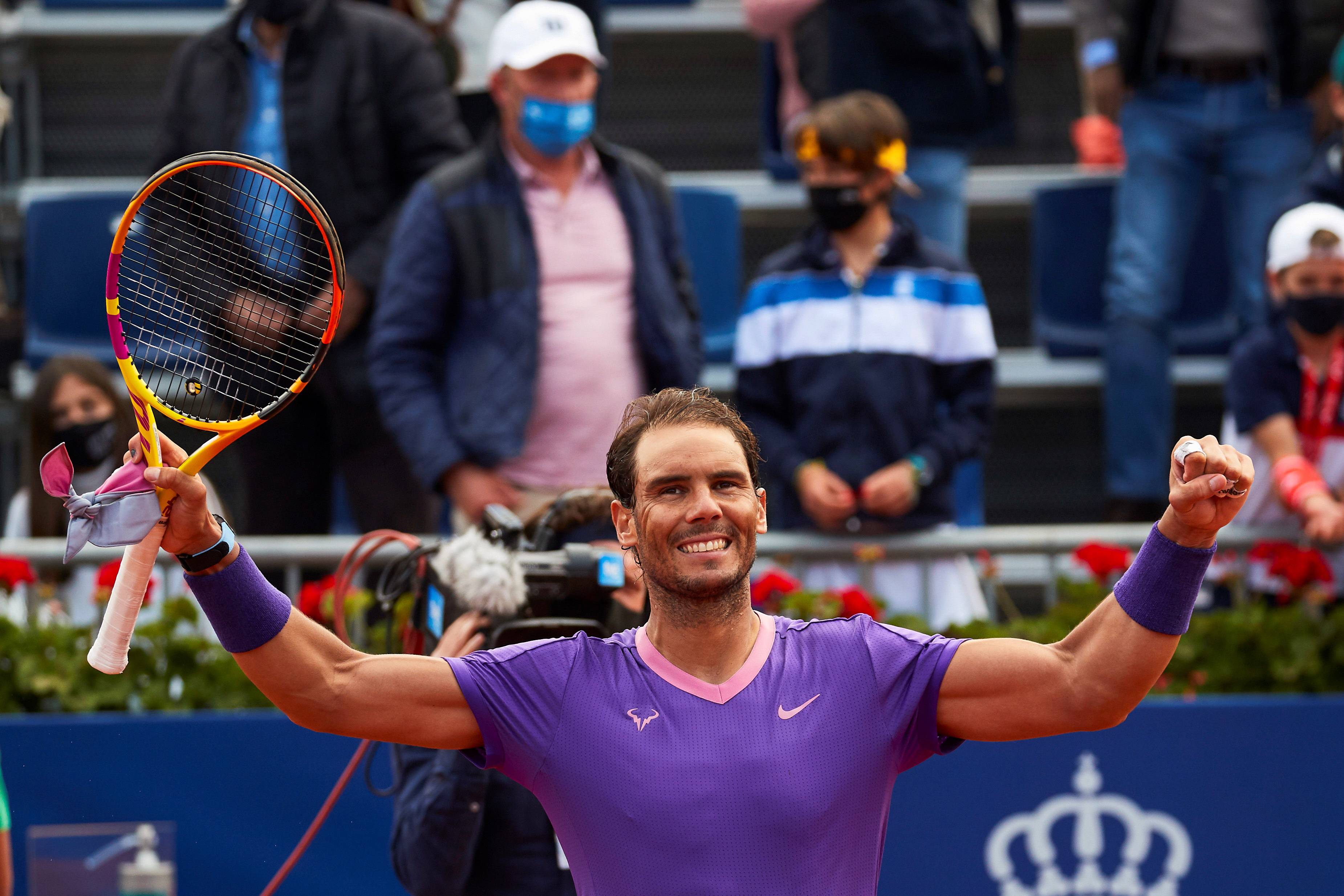 Rafael Nadal has won the Barcelona Open to return to world number two