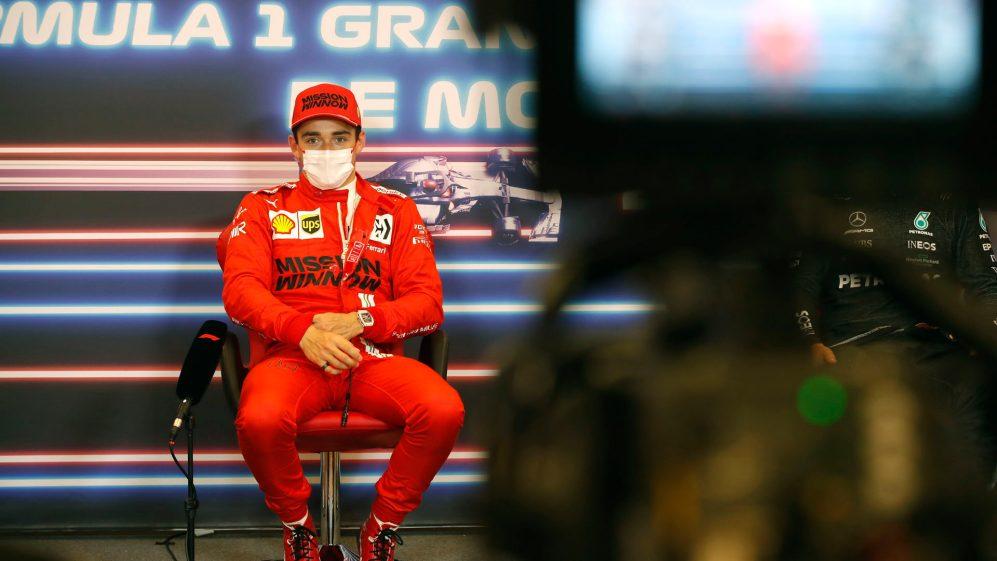 F1摩纳哥大奖赛排位赛成绩出炉:法拉利再次闪耀