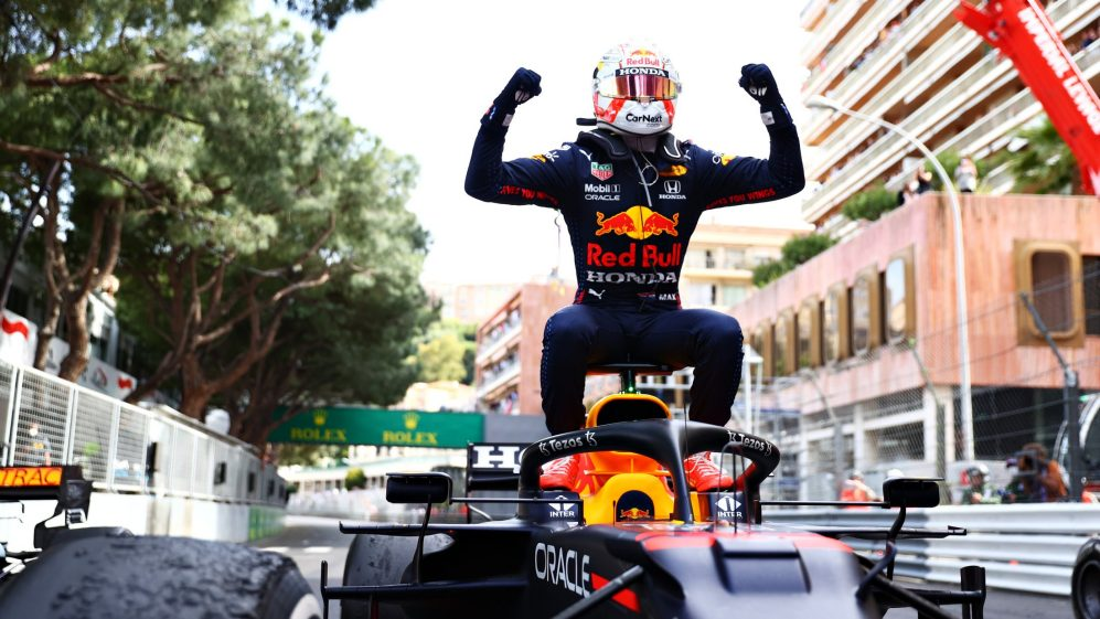 F1摩纳哥大奖赛维斯塔潘夺冠军,F1车手积分排行榜升至榜首