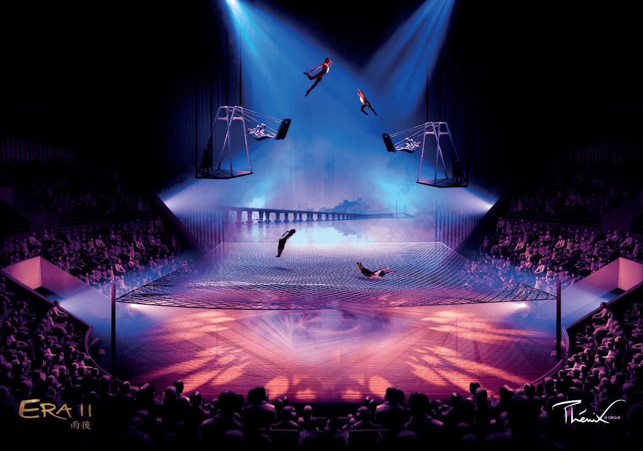 6月19日,《时空之旅2》亮相上海马戏城