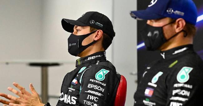 外媒曝博塔斯将离开梅赛德斯车队,和拉塞尔互换