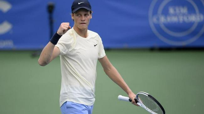 2021年ATP500华盛顿站冠军产生,辛纳首夺男单冠军