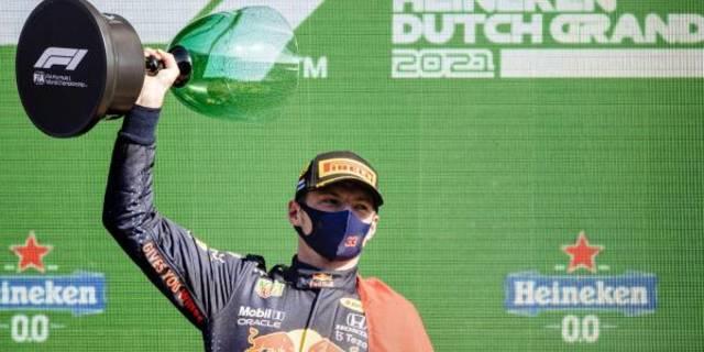 F1荷兰大奖赛维斯塔潘主场夺冠 ,荷兰人有了新英雄