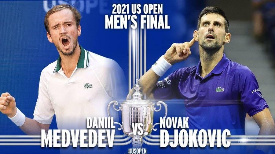 2021美网男单决赛时间将于9月13日举行,央视直播巅峰对决