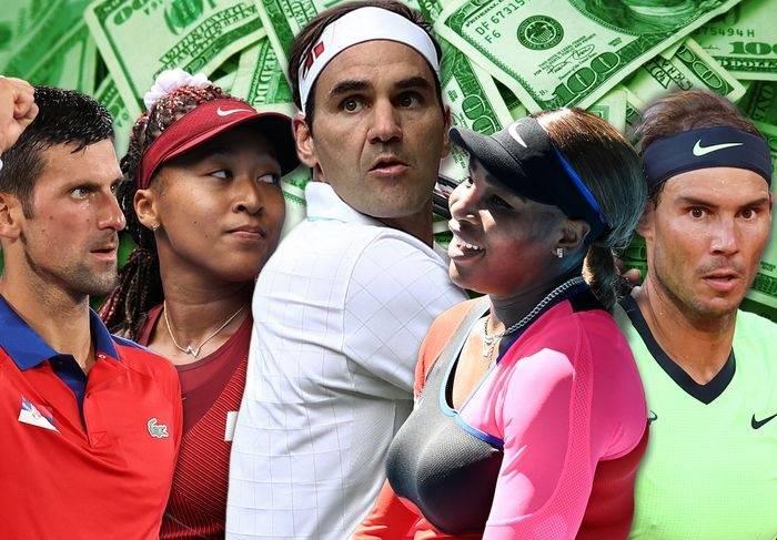 费德勒堪称传奇,连续16年网球明星年度收入排名第一