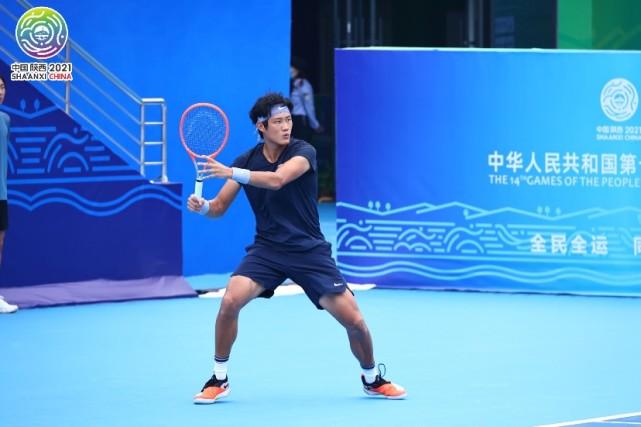全运会网球男单张之臻轰晋级,柏衍晋级将战张择