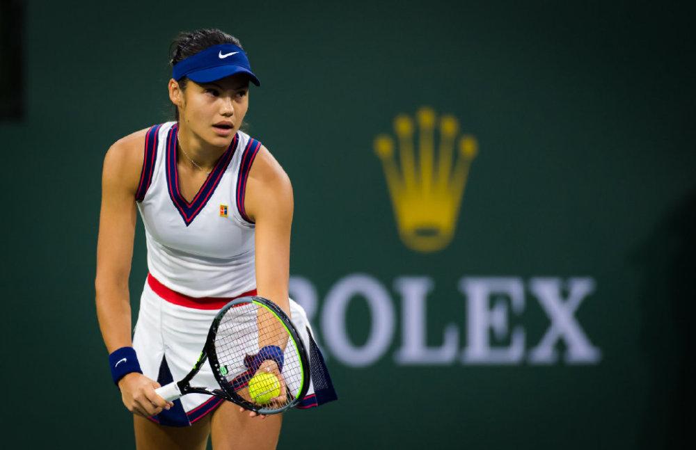 华裔美网冠军美网首秀沮丧离场,对手排名第100位