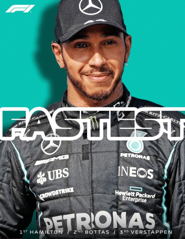 F1土耳其站排位赛:汉密尔顿最快,博塔斯杆位起步