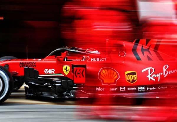 F1官网:法拉利落后于梅赛德斯,并没有我们想象得那样慢
