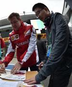 2015上海F1车迷签名会及维修区参观图集