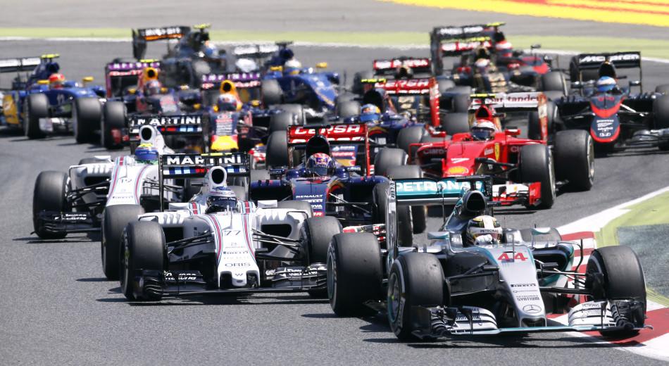 2015年F1西班牙站正式比赛高清图片