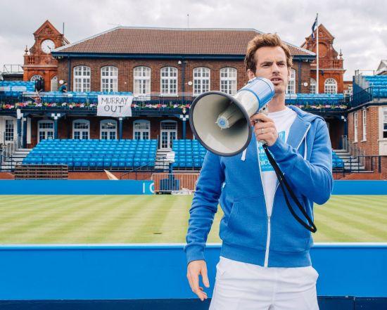 穆雷化身网球教练