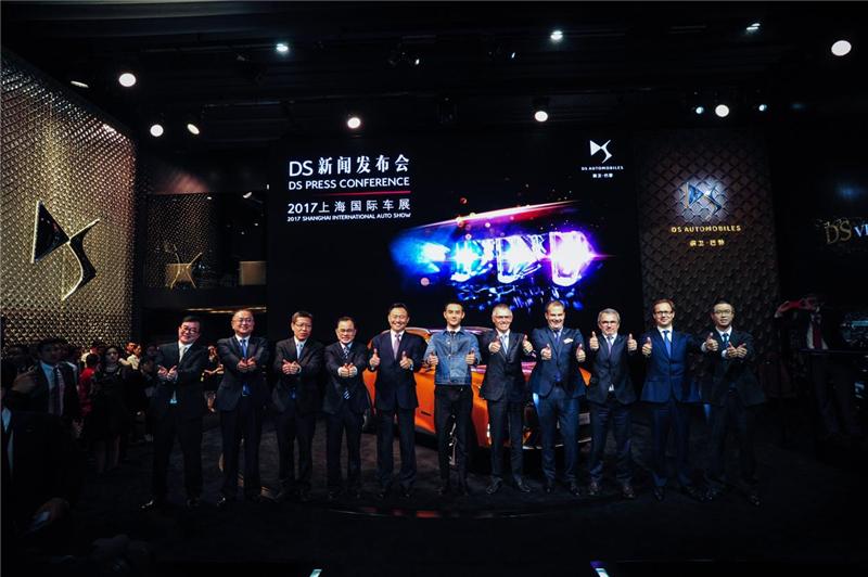 2017上海国际车展男神当道,王凯全新代言DS