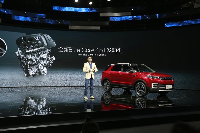 """2017上海车展最""""色""""SUV亮相,长安CS55成亮点"""