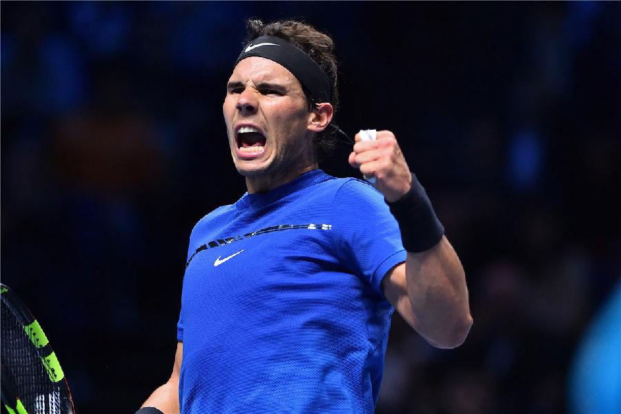 2017最新ATP网球世界排名:纳费包揽年终前二