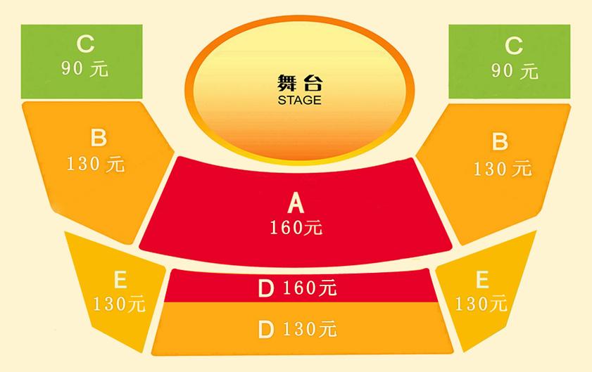 上海马戏城 欢乐马戏座位图