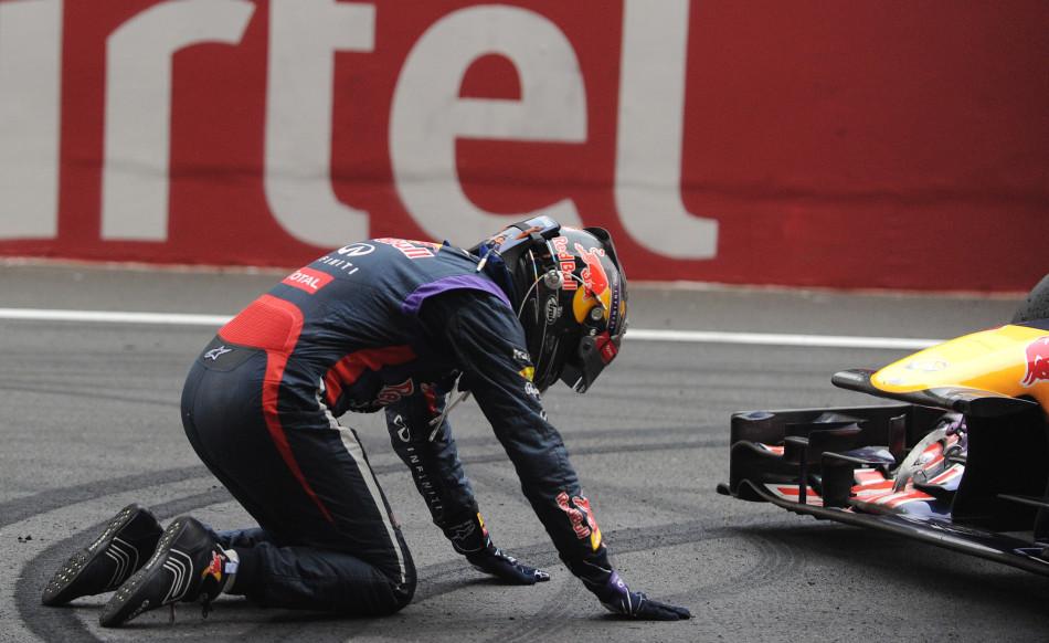2013赛季F1年度总冠军维特尔印度站提前卫冕