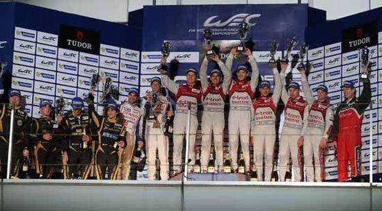 WEC上海耐力锦标赛在上海F1国际赛车场圆满落幕