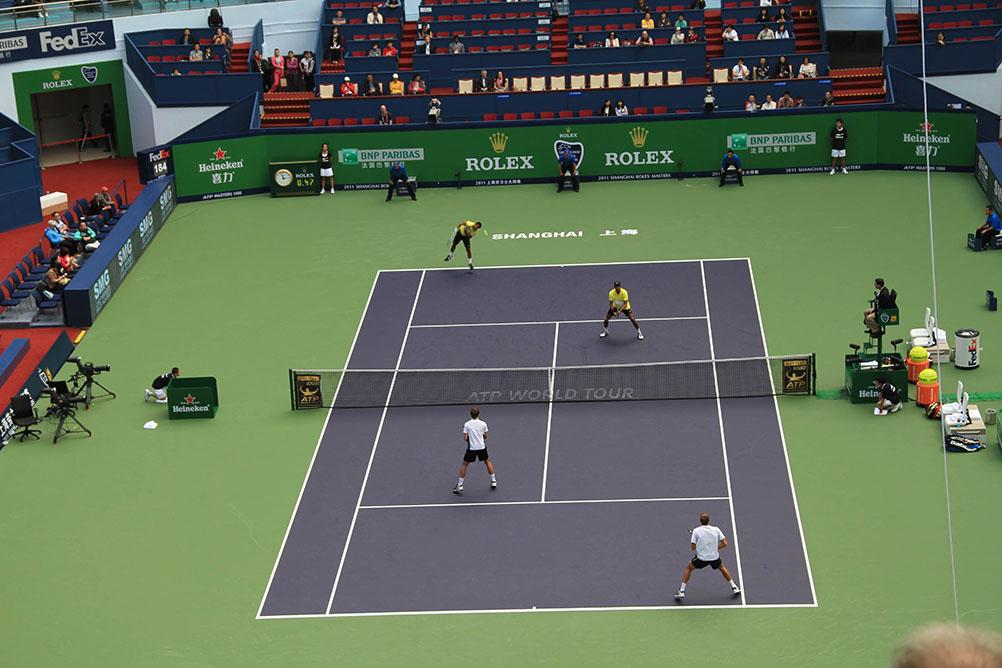 2011年ATP网球大师赛上海网球中心比赛花絮