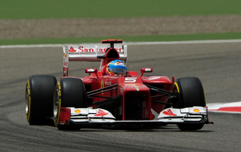F1巴林站第三次练习赛精彩图片