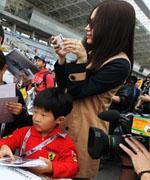 F1韩国站车手签名会