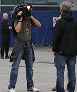 揭秘上海F1大奖赛正赛发车前电视直播采访